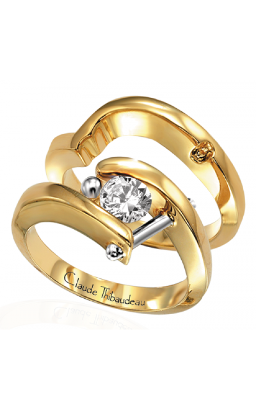 Claude Thibaudeau Petite Designs Engagement ring PLT-238 product image
