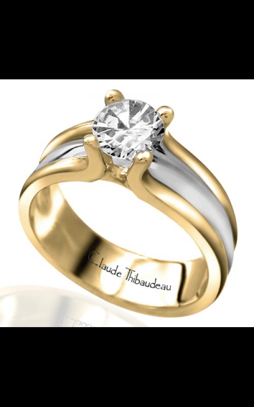 Claude Thibaudeau Petite Designs Engagement ring PLT-2413 product image