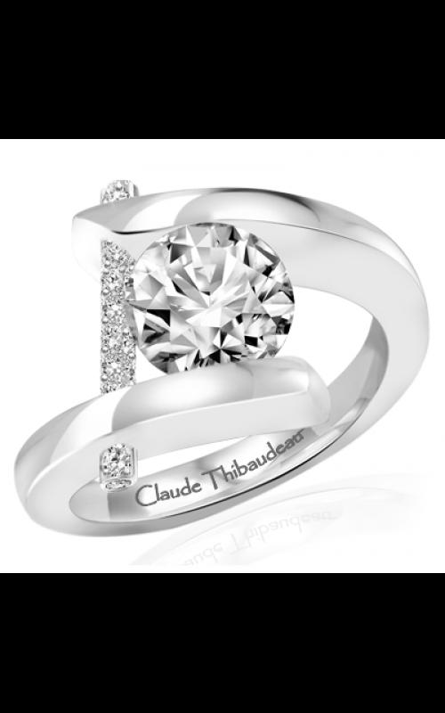 Claude Thibaudeau Pure Perfection Engagement ring PLT-10000-MP product image