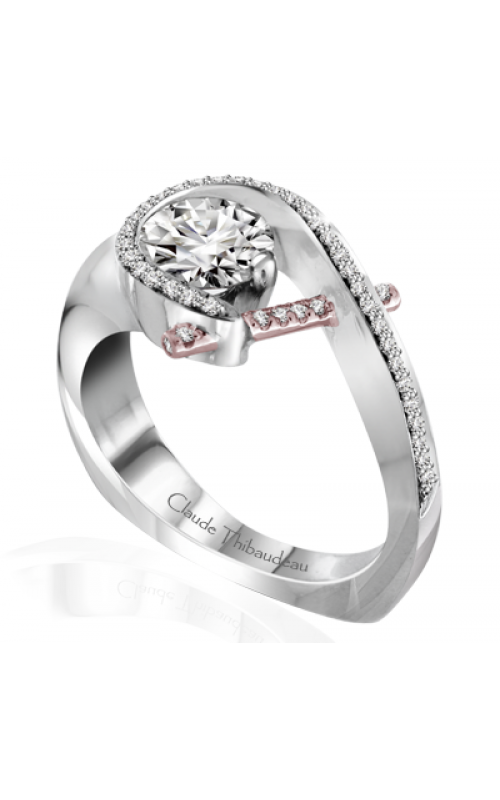 Claude Thibaudeau Pure Perfection Engagement ring PLT-10009R-MP product image