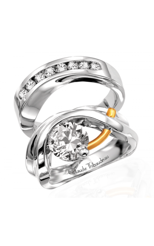 Claude Thibaudeau Pure Perfection Engagement ring PLT-115 product image