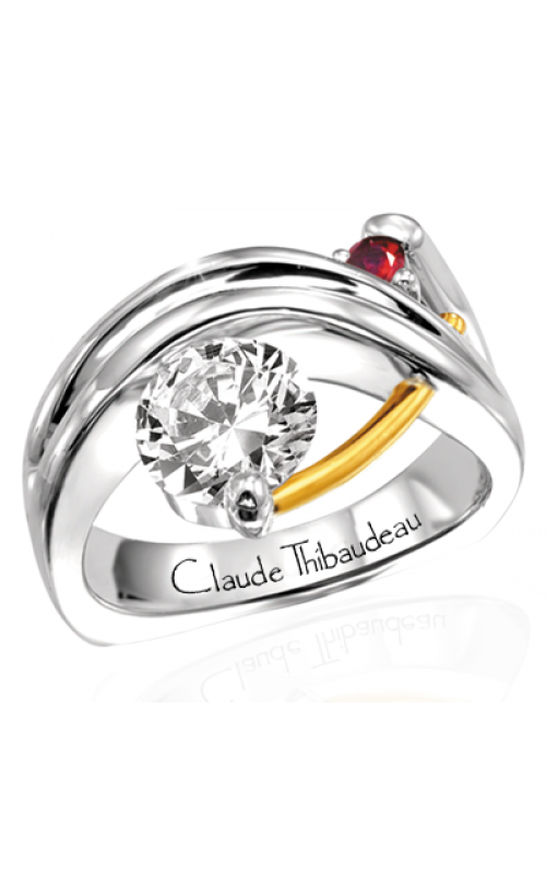 Claude Thibaudeau Pure Perfection Engagement ring PLT-117 product image