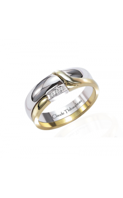 Claude Thibaudeau The Inseparables Wedding Band IF-124-F product image