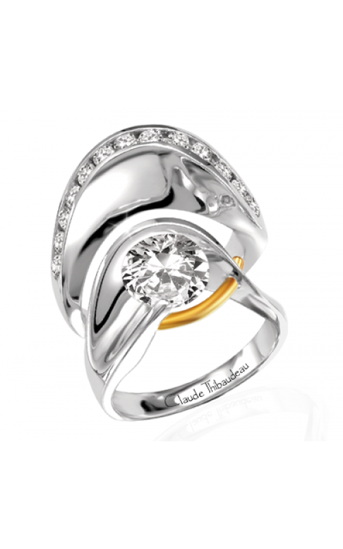 Claude Thibaudeau Pure Perfection Engagement ring PLT-135 product image