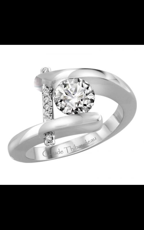 Claude Thibaudeau Pure Perfection Engagement ring PLT-13-MP product image