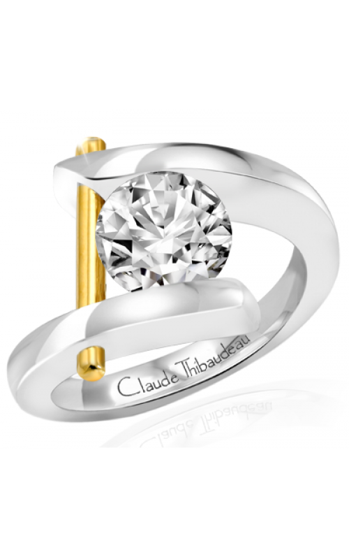 Claude Thibaudeau Pure Perfection Engagement ring PLT-165 product image