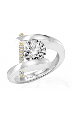 Claude Thibaudeau Pure Perfection Engagement Ring PLT-165Y-MP product image
