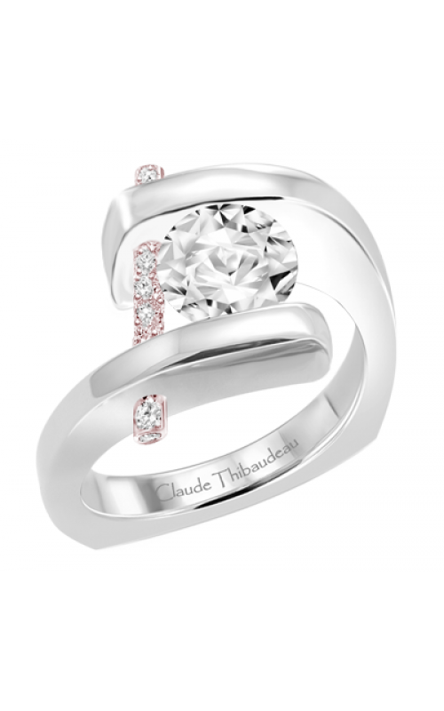Claude Thibaudeau Pure Perfection Engagement ring PLT-1815R-MP product image