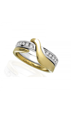 Claude Thibaudeau The Inseparables Wedding band IF-162-F product image