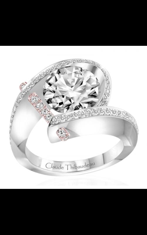 Claude Thibaudeau Pure Perfection Engagement ring PLT-1831R-MP product image