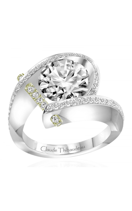 Claude Thibaudeau Pure Perfection Engagement ring PLT-1831V-MP product image