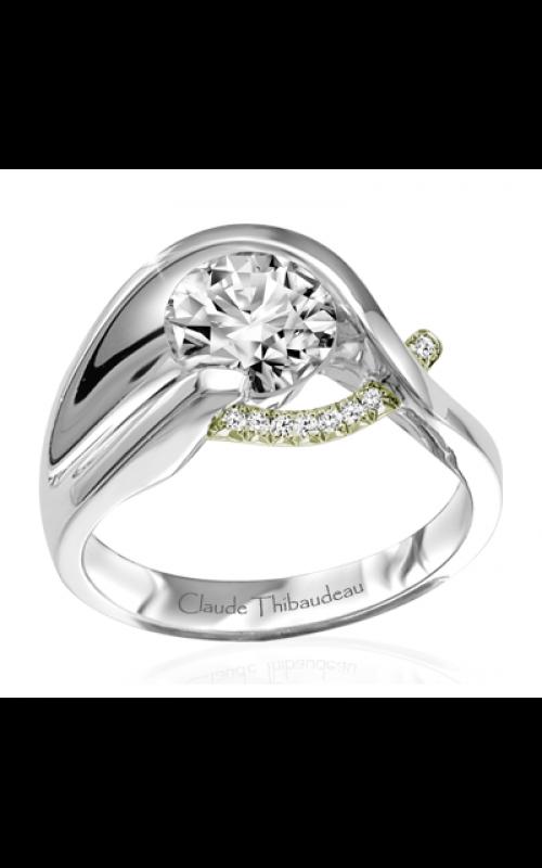 Claude Thibaudeau Pure Perfection Engagement ring PLT-1861V-MP product image