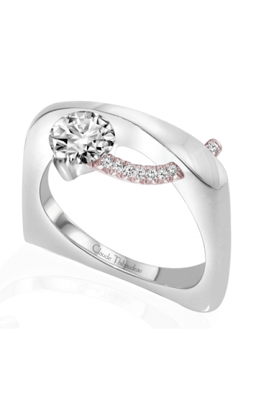 Claude Thibaudeau Pure Perfection Engagement ring PLT-1862R-MP product image