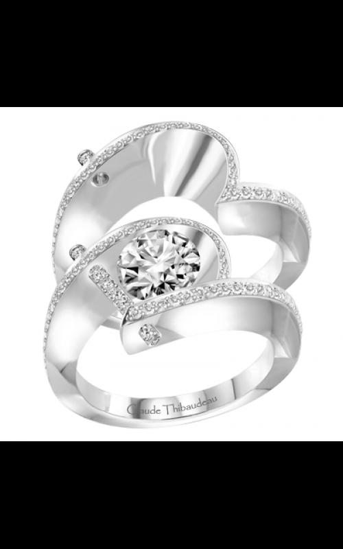 Claude Thibaudeau Pure Perfection Engagement ring PLT-1940-MP product image