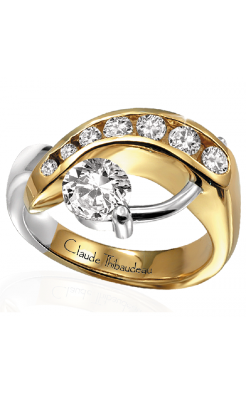 Claude Thibaudeau Pure Perfection Engagement ring PLT-2121 product image