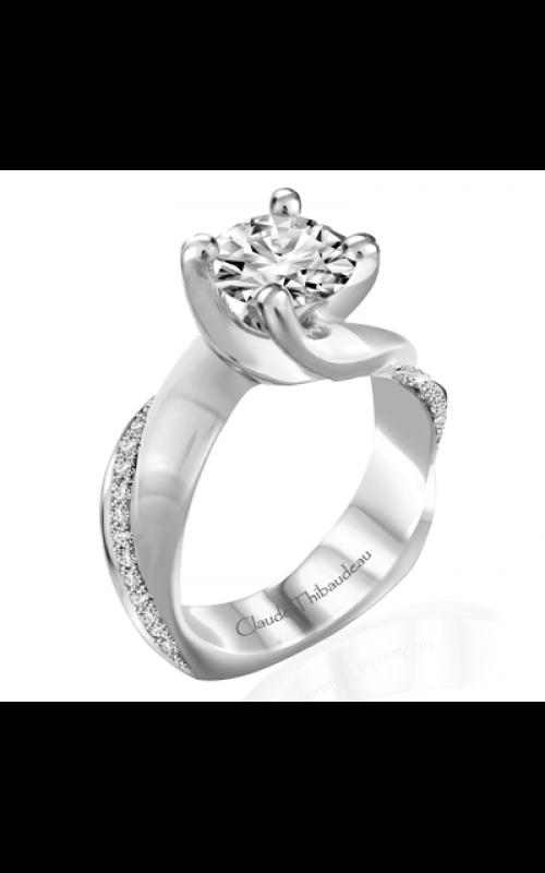 Claude Thibaudeau Simplicite Engagement ring PLT-10031-MP product image