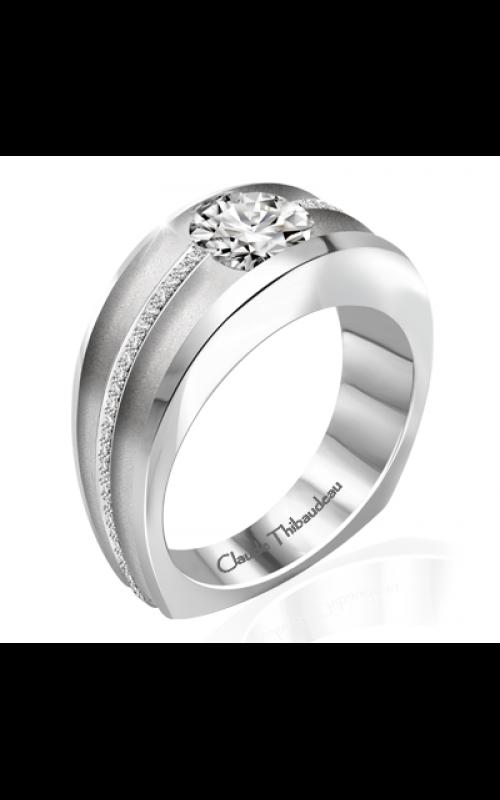Claude Thibaudeau Simplicite Engagement ring PLT-10041-MP product image