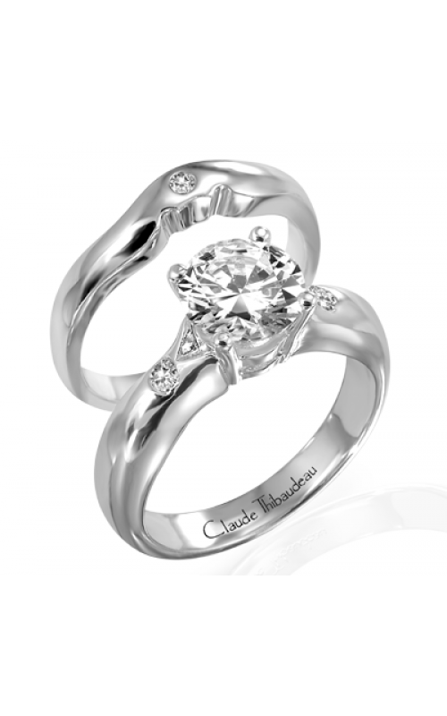 Claude Thibaudeau Simplicite Engagement ring PLT-1190 product image