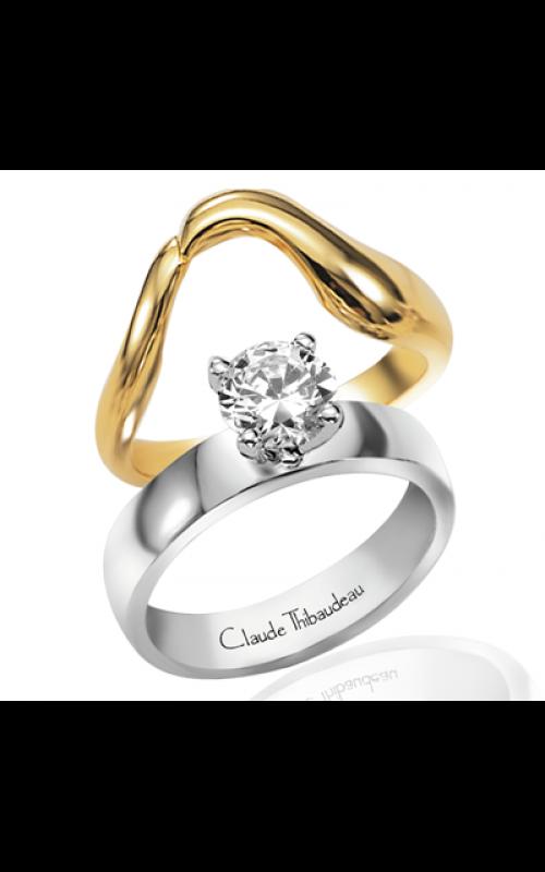 Claude Thibaudeau Simplicite Engagement ring PLT-1272 product image
