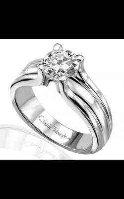 Claude Thibaudeau Simplicite Engagement Ring PLT-1447 product image