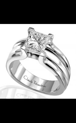 Claude Thibaudeau Simplicite Engagement Ring PLT-1453 product image