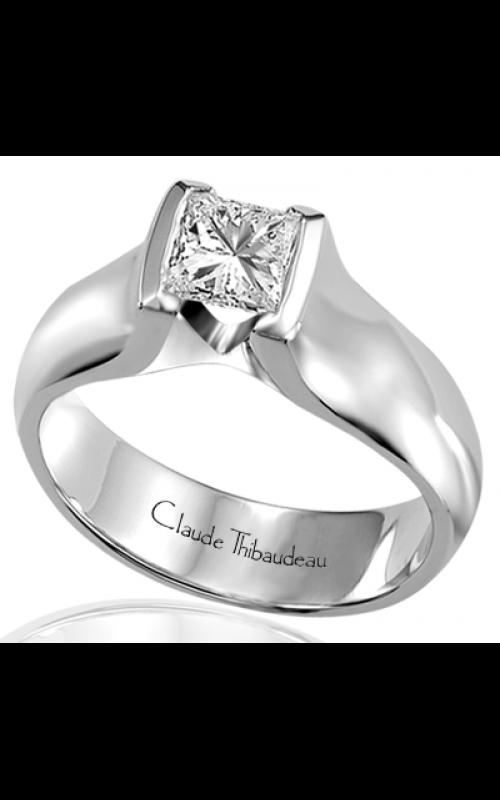 Claude Thibaudeau Simplicite Engagement ring PLT-1461 product image