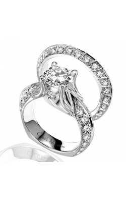 Claude Thibaudeau Simplicite Engagement Ring PLT-1465 product image
