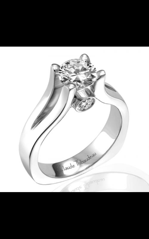 Claude Thibaudeau Simplicite Engagement ring PLT-1526 product image