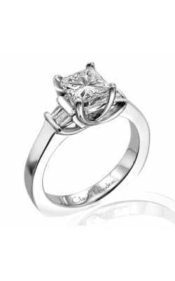 Claude Thibaudeau Simplicite Engagement Ring PLT-1610 product image