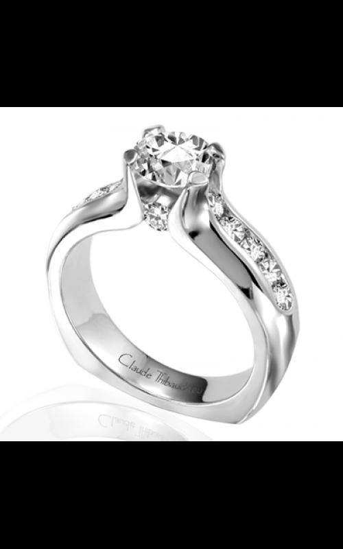 Claude Thibaudeau Simplicite Engagement ring PLT-1619 product image