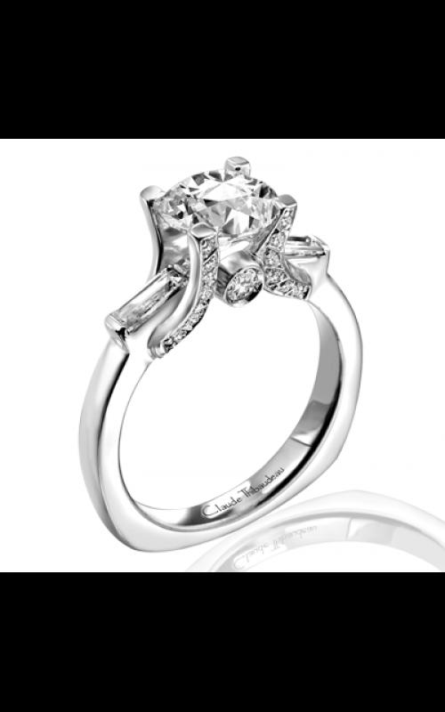 Claude Thibaudeau Simplicite Engagement ring PLT-1620 product image