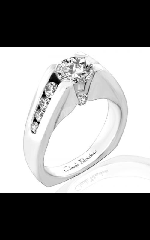 Claude Thibaudeau Simplicite Engagement ring PLT-1623 product image