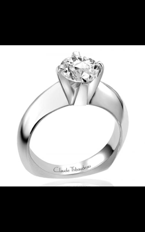 Claude Thibaudeau Simplicite Engagement ring PLT-1624 product image