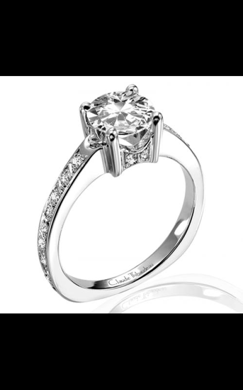 Claude Thibaudeau Simplicite Engagement ring PLT-1632 product image