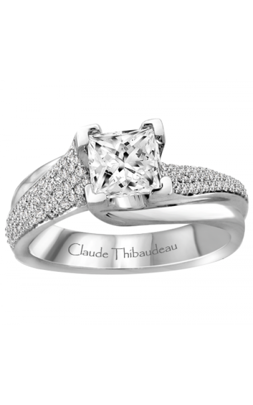 Claude Thibaudeau Simplicite Engagement ring PLT-1928-MP product image