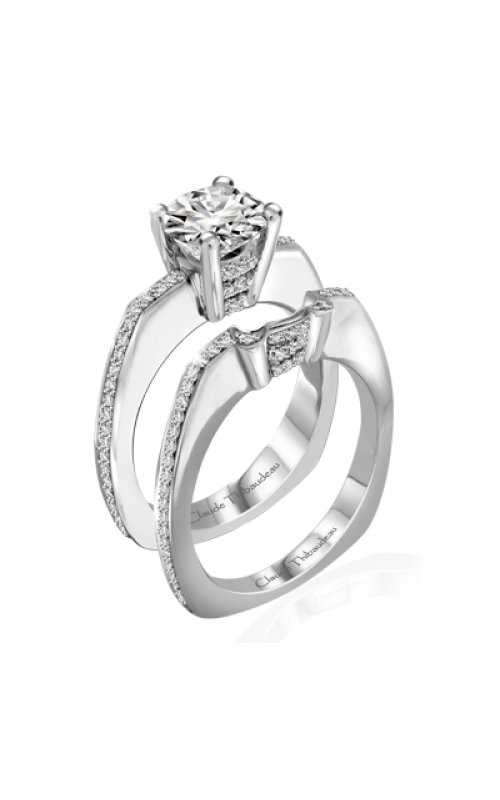 Claude Thibaudeau Simplicite Engagement ring PLT-1950-MP product image