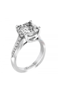 Claude Thibaudeau Simplicite Engagement ring PLT-1969-MP product image