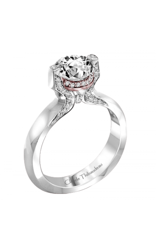 Claude Thibaudeau Simplicite Engagement ring PLT-1991R-MP product image
