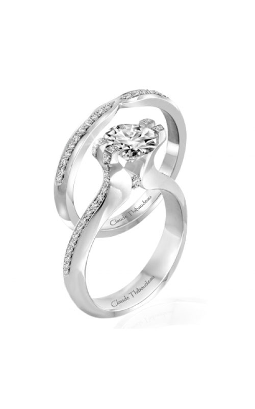 Claude Thibaudeau Simplicite Engagement ring PLT-1993-MP product image