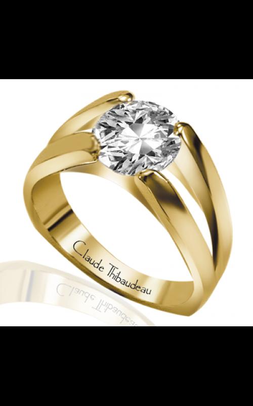 Claude Thibaudeau Simplicite Engagement ring PLT-2196 product image