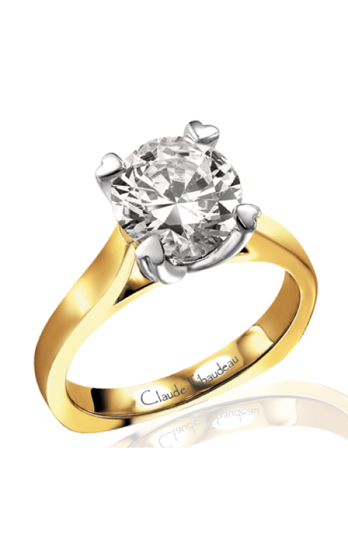 Claude Thibaudeau Simplicite Engagement ring PLT-2552 product image