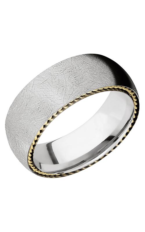 GMG Jewellers Wedding band CC8DSIDEBRAID DISTRESS product image