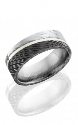 GMG Jewellers Wedding Band D8F11ANGLED/SS product image