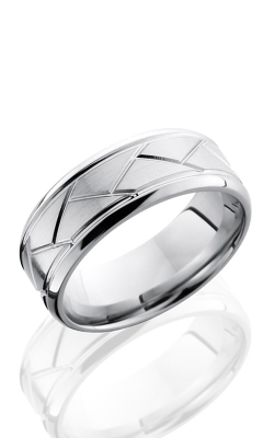 GMG Jewellers Wedding Band CC8BFLATWEAVE product image