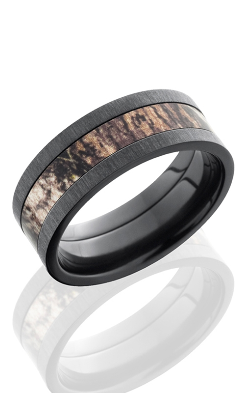 GMG Jewellers Wedding band ZCAM09F14/MOSSY product image