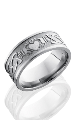GMG Jewellers Wedding Band 9FCLADDAGHCELTIC BEAD/POLISH product image