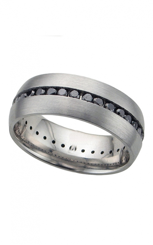 GMG Jewellers Wedding band CC8DETERNITYBLK.04 product image