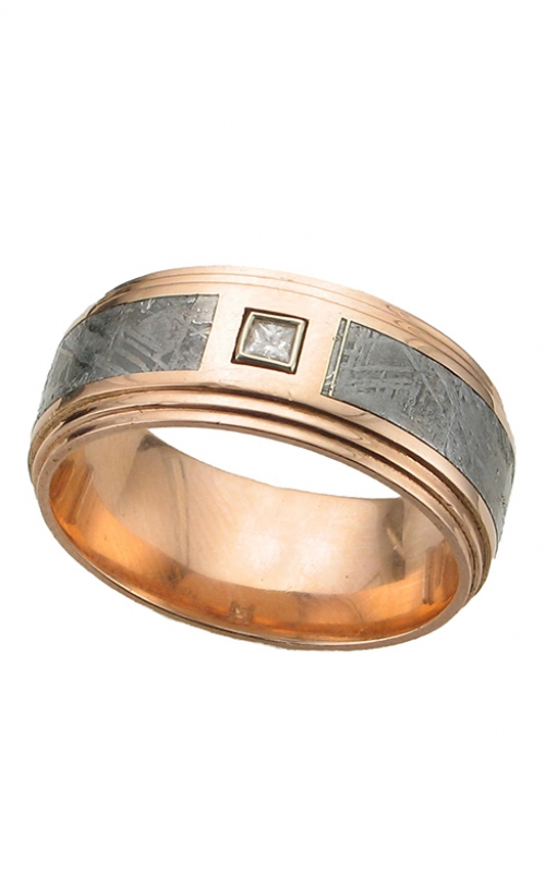 GMG Jewellers Wedding band 14KR9F2S14.5SEG/METEORITE product image
