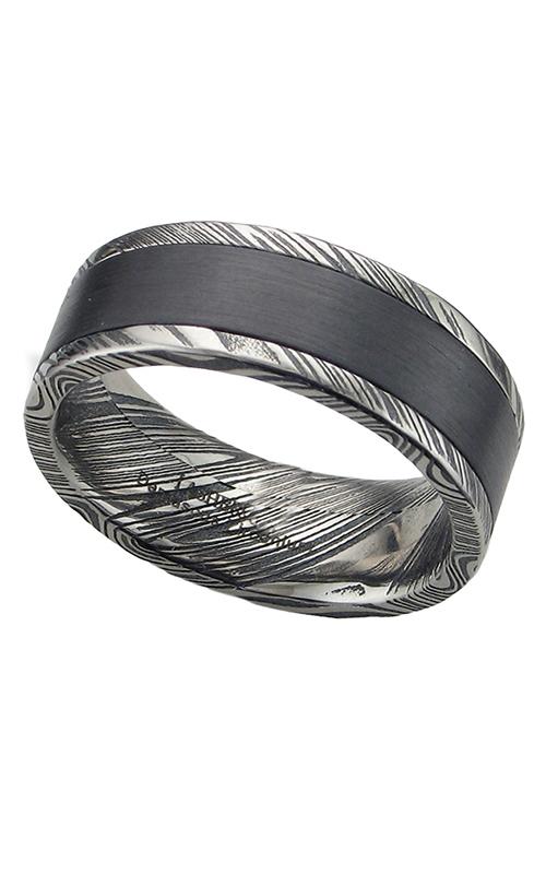GMG Jewellers Wedding band DPF8F15WOODGRAIN/ZIRCONIUM product image