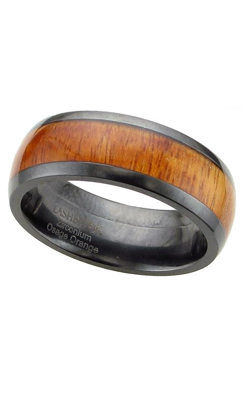 GMG Jewellers Wedding band Z8D15/HARDWOOD product image